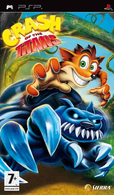 Crash - Of The Titans PSP