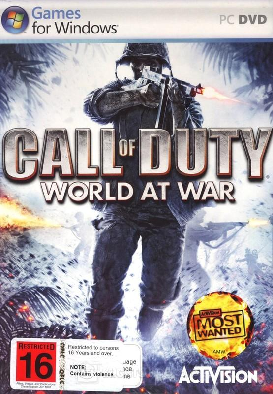 Call Of Duty 5: World At War משחק מחשב