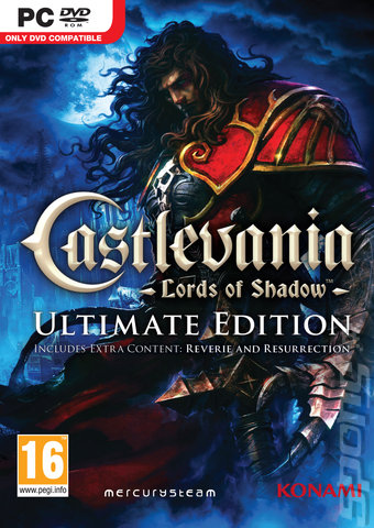 Castlevania Lords of Shadow משחק מחשב